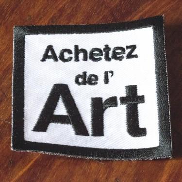 Écusson Achetez de l'art