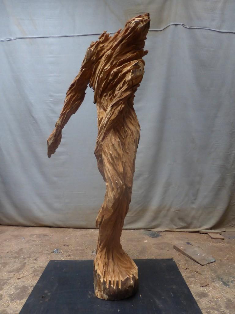 Ermite, sculpture de Xavier Dambrine