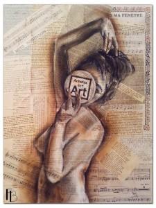 Acheter de l'art vu par l'artiste Flore Betty