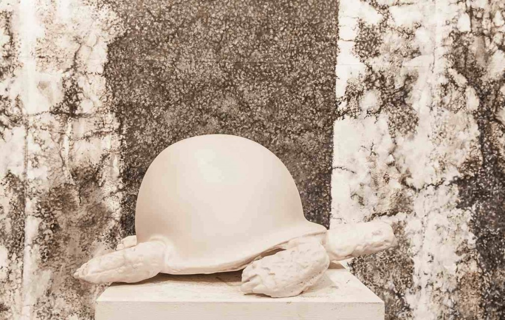 Tortue de la Paix, sculpture de Rachid Khimoune
