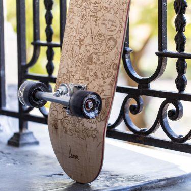 Le tail du skate Achetez de l'Art by Lemon