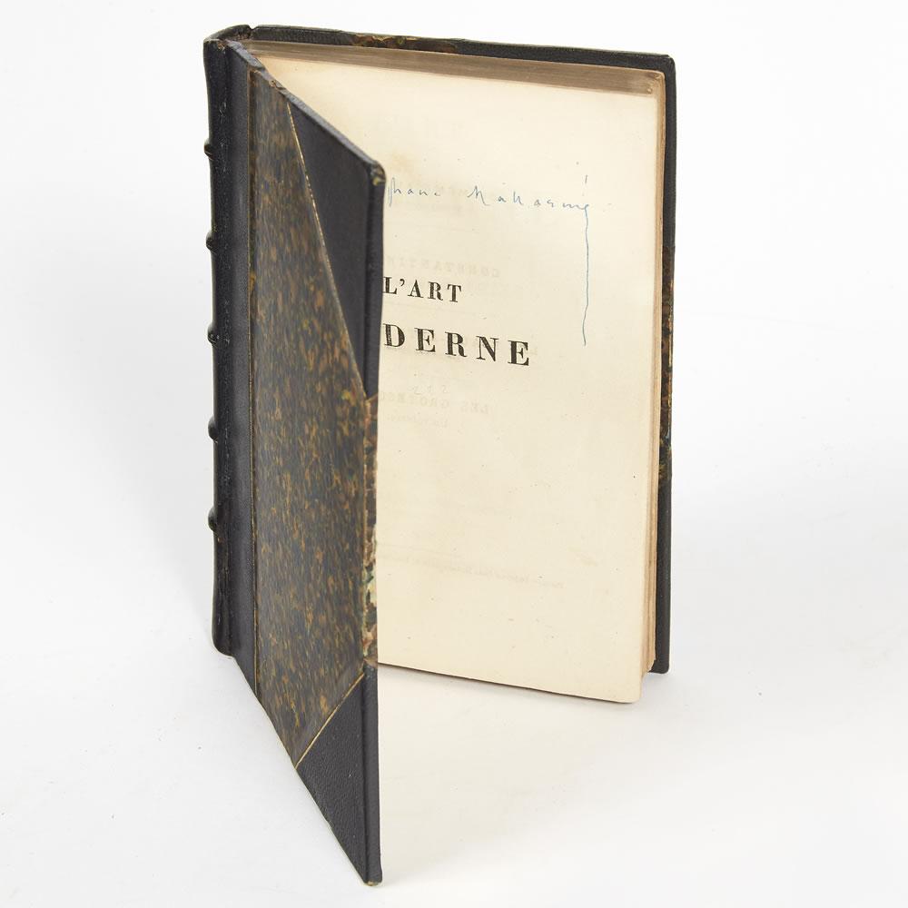 L'Art Moderne de Théophile Gautier - édition originale