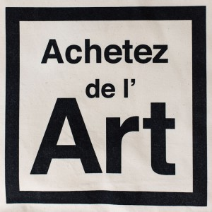 Visuel Achetez de l'art sur nos sacs en coton extra solides