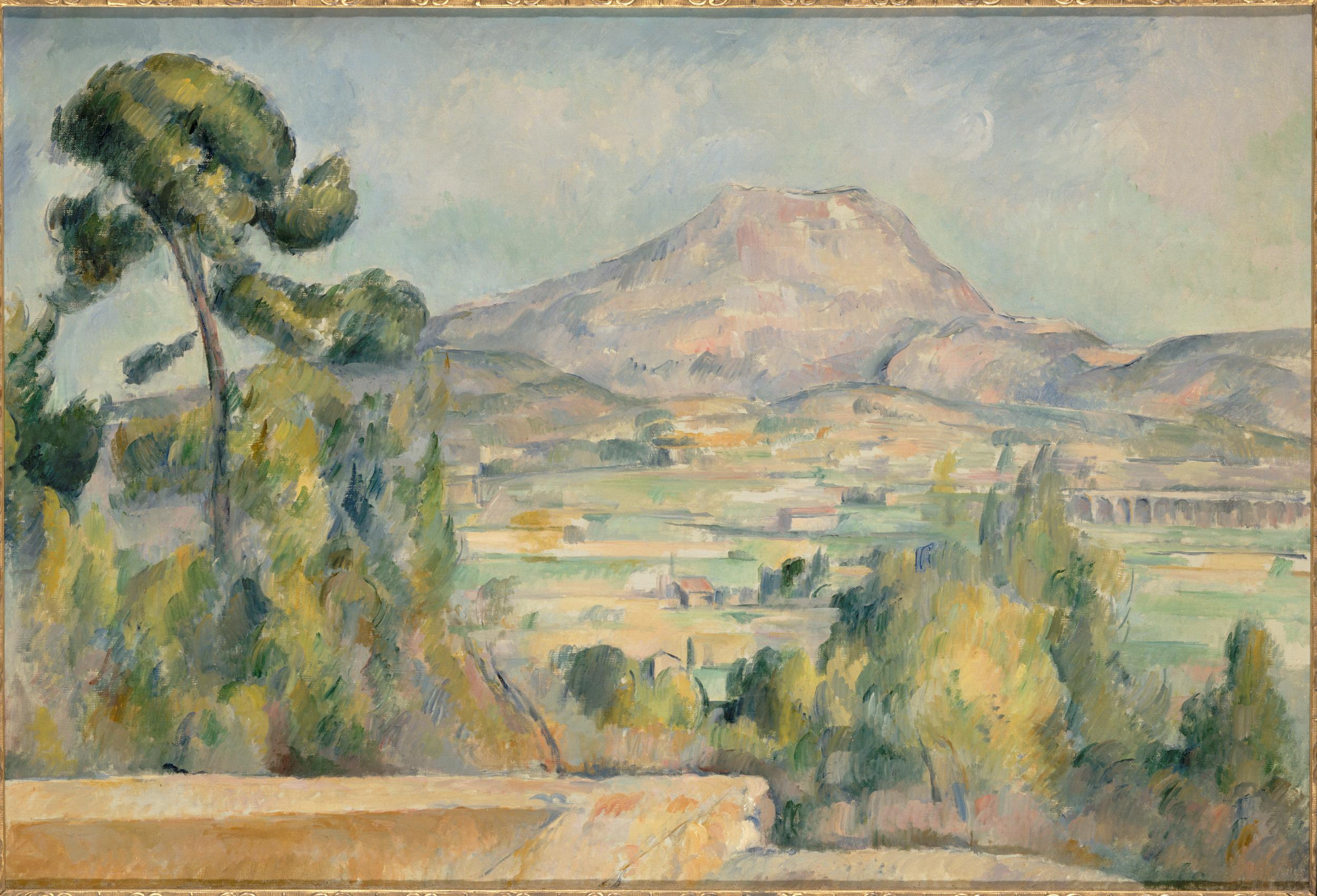Paul Cezanne La Montagne Sainte-Victoire
