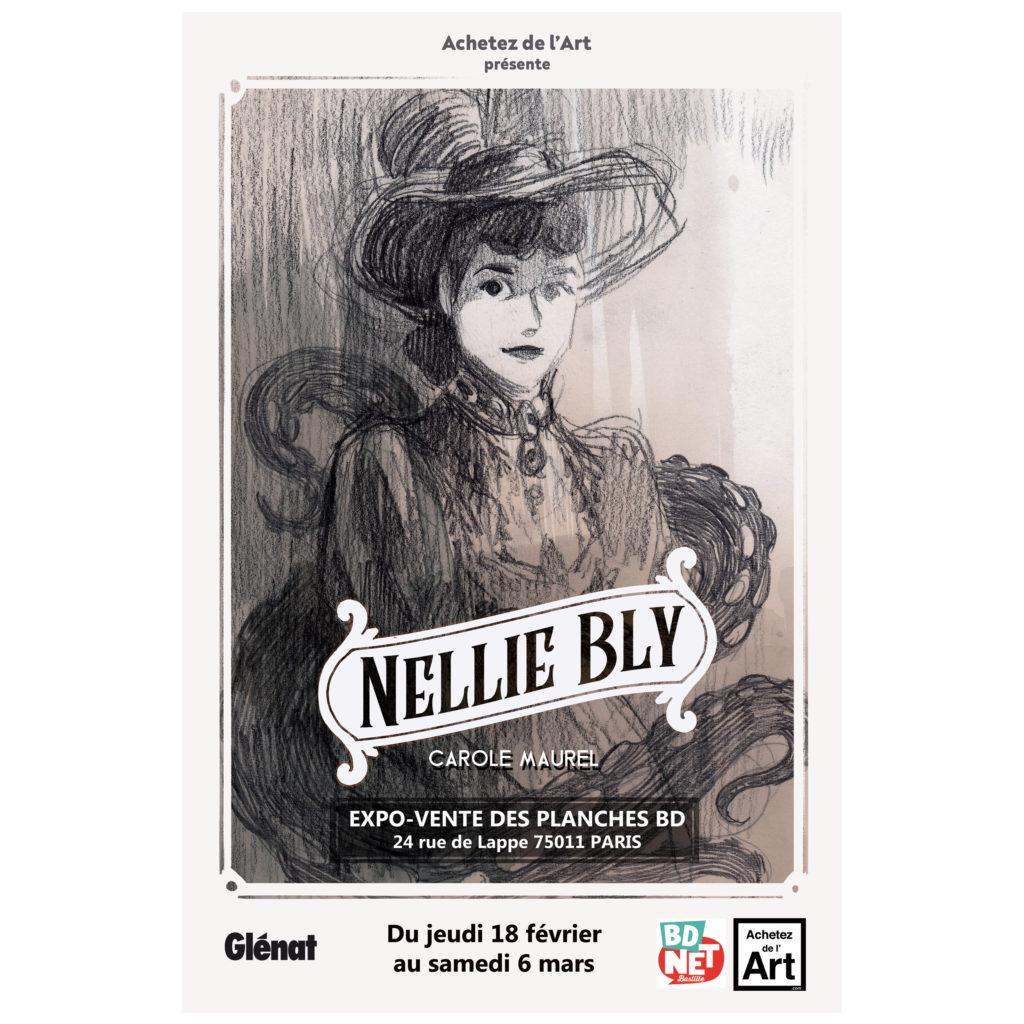 Exposition Nellie Bly - Affiche de l'exposition