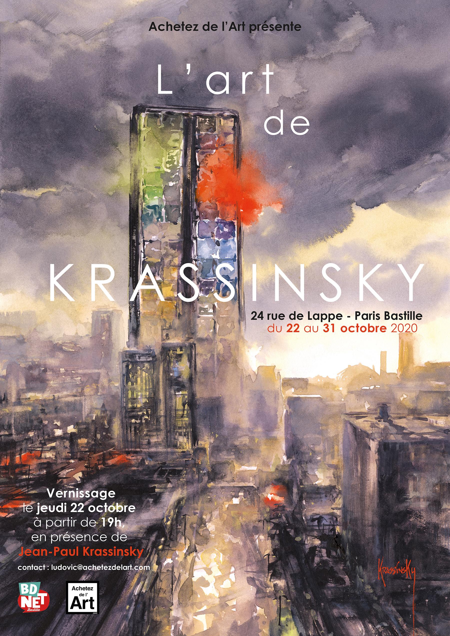L'art de Krassinsky - Du 22 au 31 octobre 2020 chez Achetez de l'Art