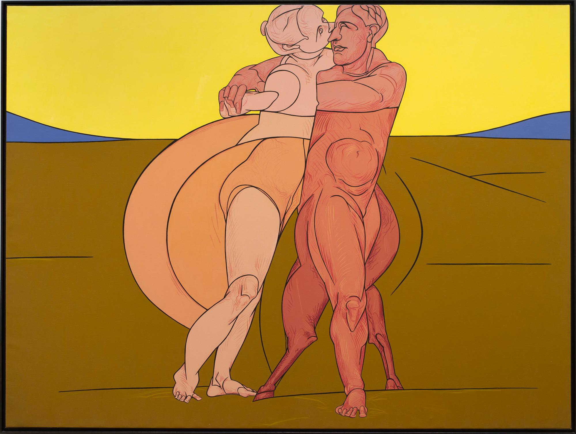 Adami à la galerie Templon : Metamorfosi, 1982