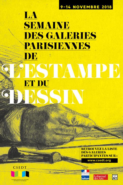 Semaine des galeries parisiennes de l'estampe et du dessin