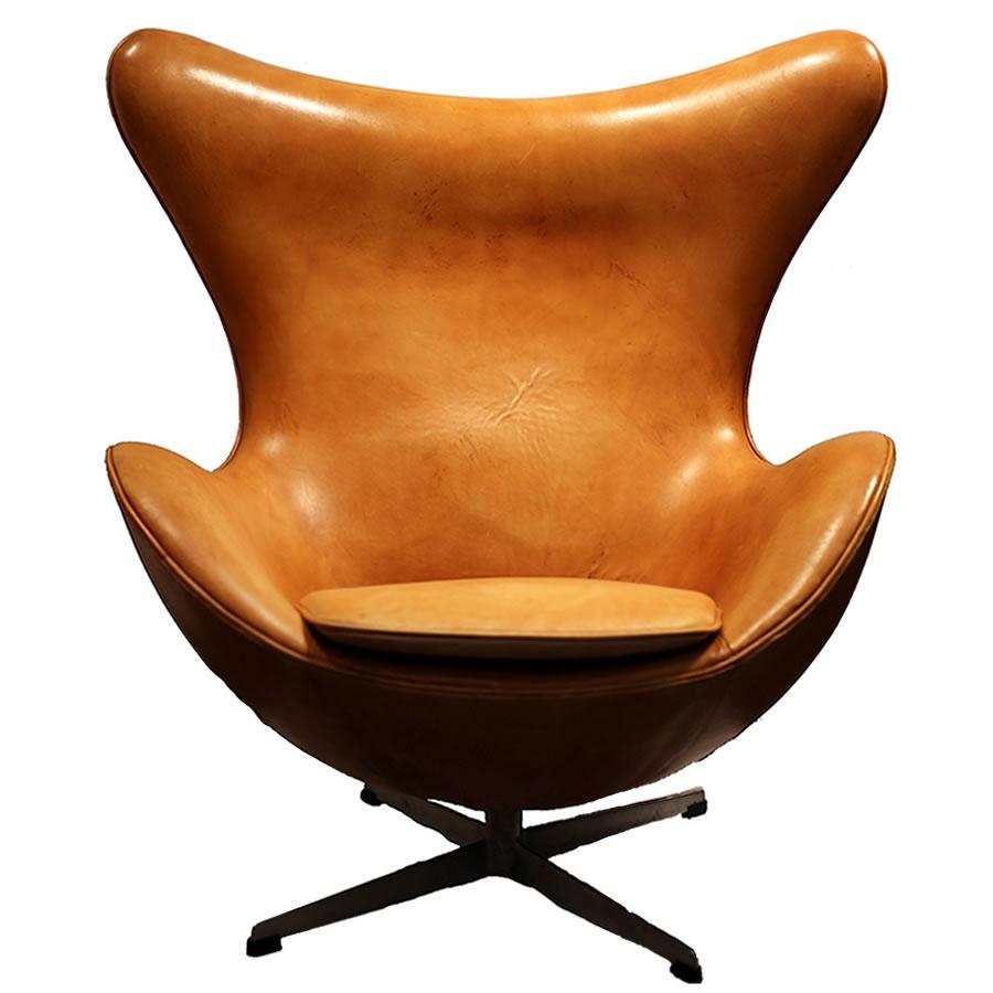le fauteuil egg d 39 arne jacobsen chef d 39 oeuvre du design. Black Bedroom Furniture Sets. Home Design Ideas
