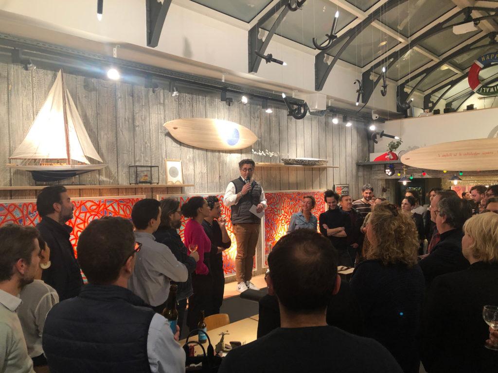 Vernissage de l'exposition d'Arthur Simony à la Fabrique Générale