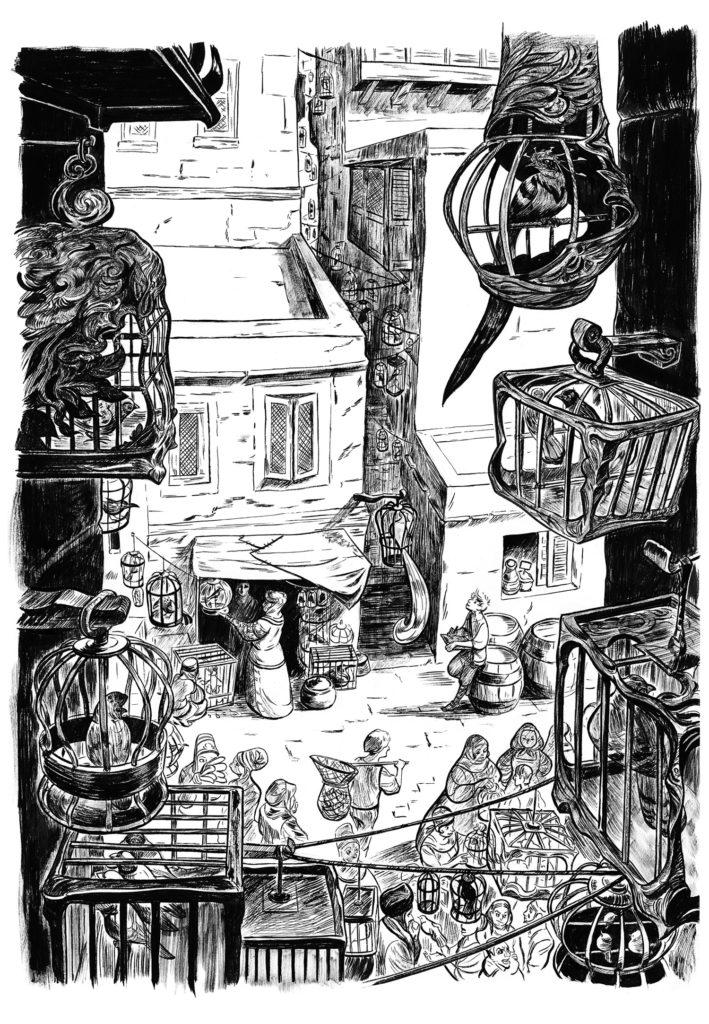 Le Boiseleur - Planche originale page 10
