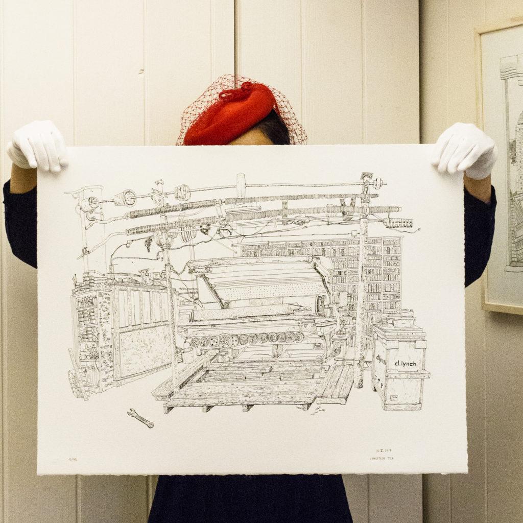 Lithographie de Christelle Téa - L'Atelier Idem à Paris - 31 mai 2017