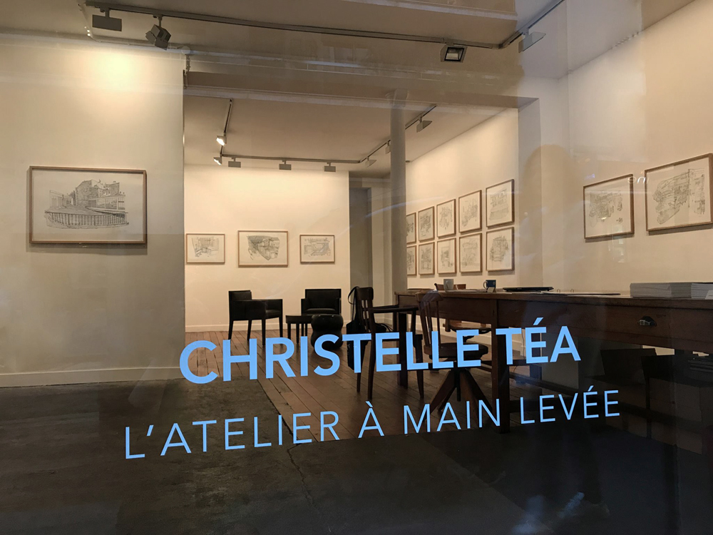 Exposition de Christelle Téa - galerie Item