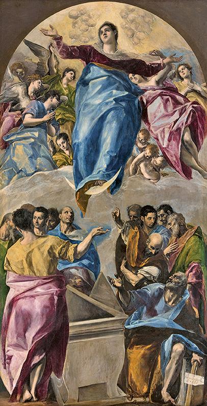 El Greco - Assomption de la Vierge