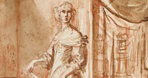 Elisabetta SIRANI - Autoportrait avec un page
