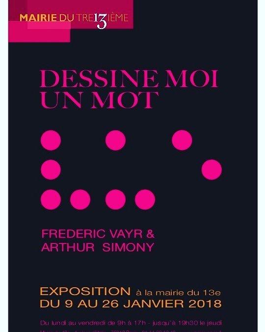 Frédéric Vayr - Exposition Mairie de Paris