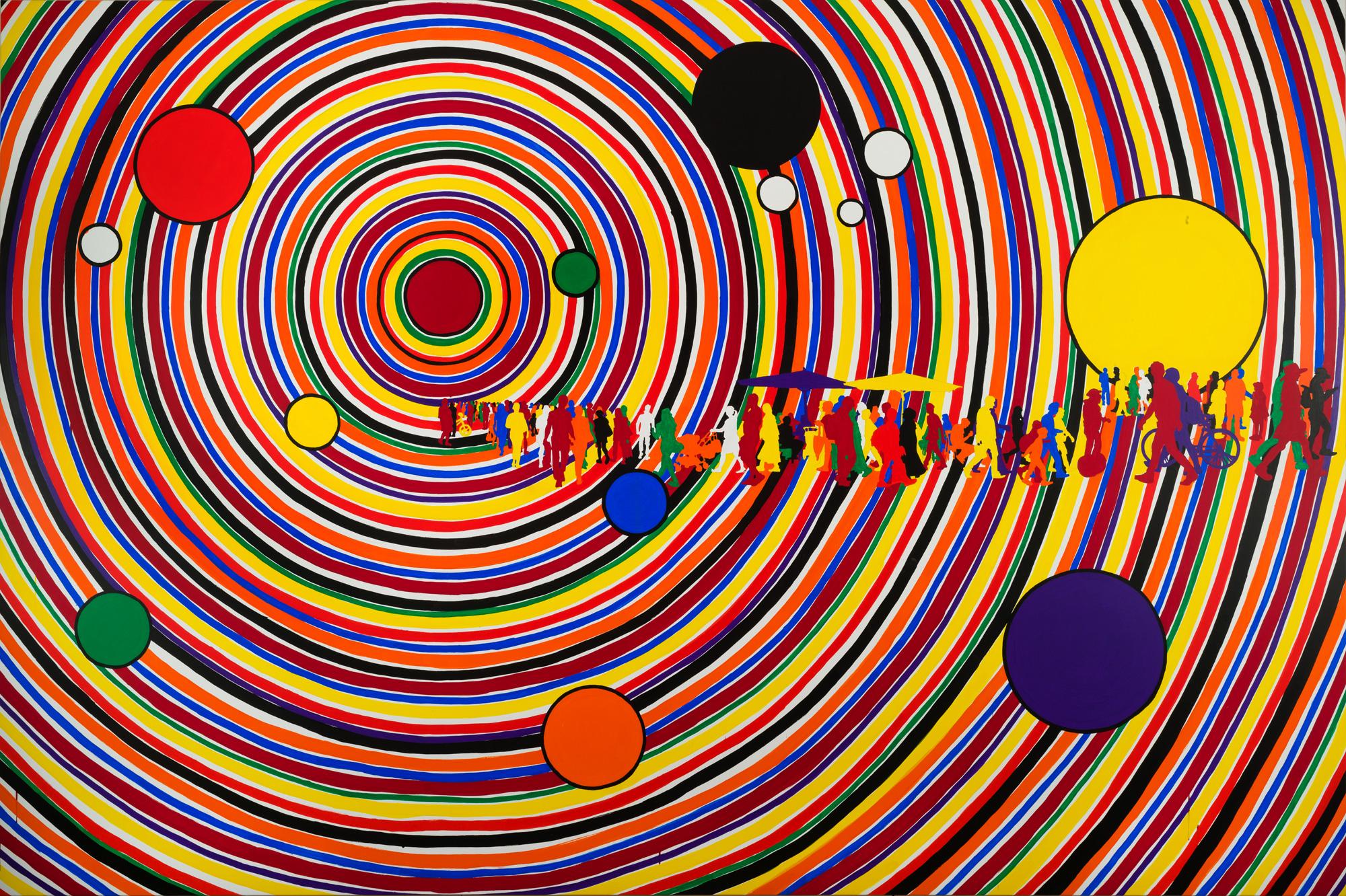 Gérard Fromanger, musée Marmottan Monet - Impression Soleil Levant 2019