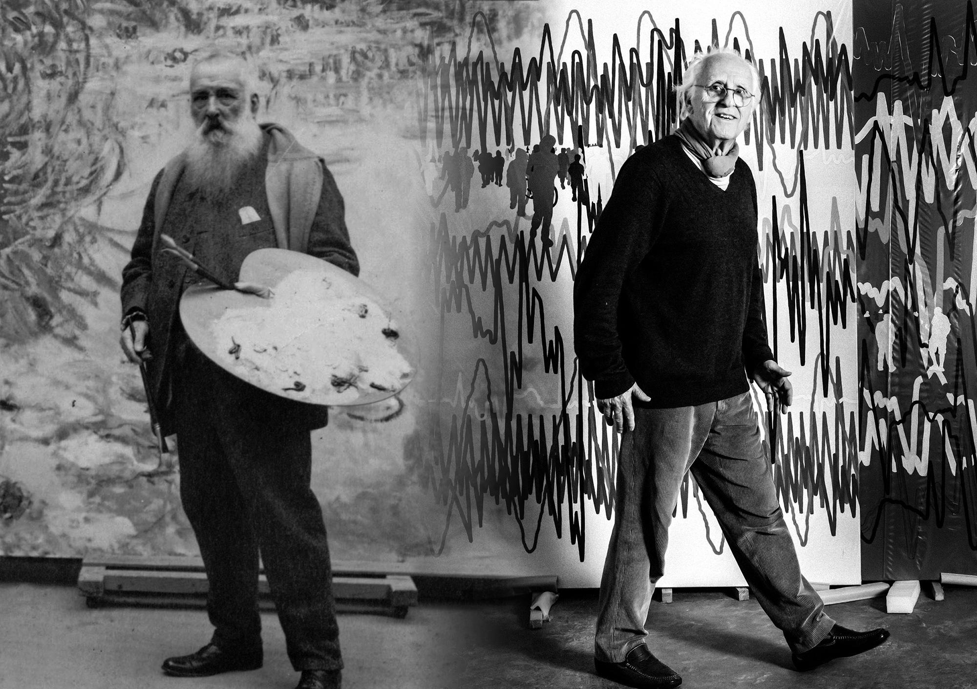 Gérard Fromanger au musée Marmottan -Impression Soleil Levant 2019