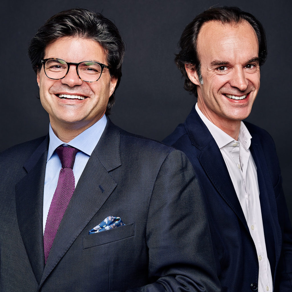 Geoffroy Ader et Guillaume Horen