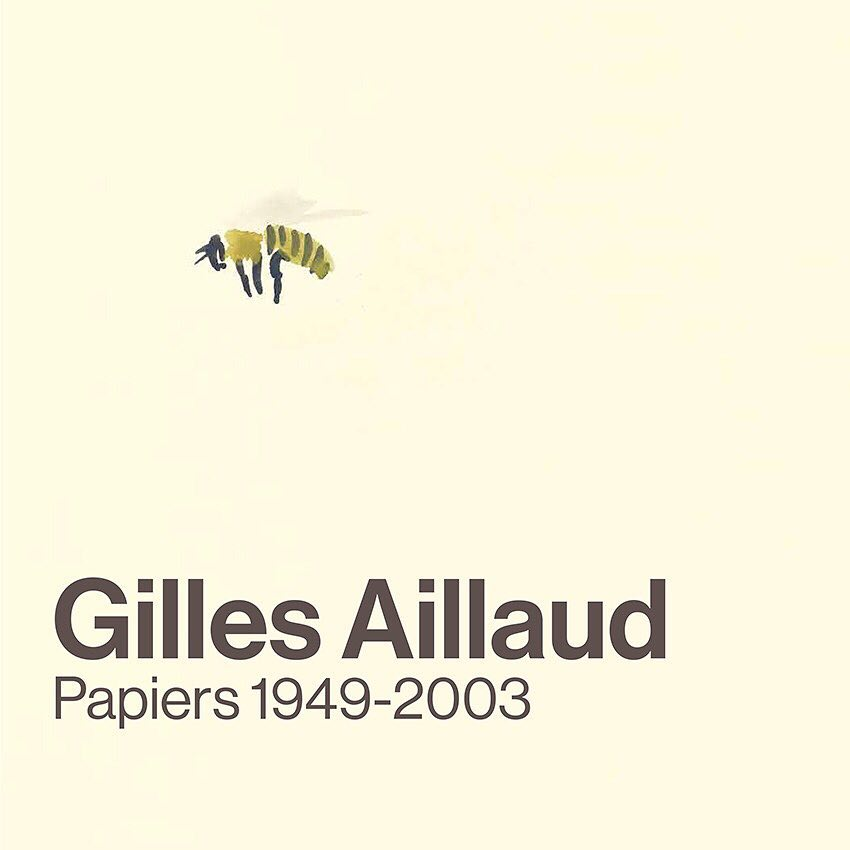 Gilles Aillaud, Papiers, 1949-2003