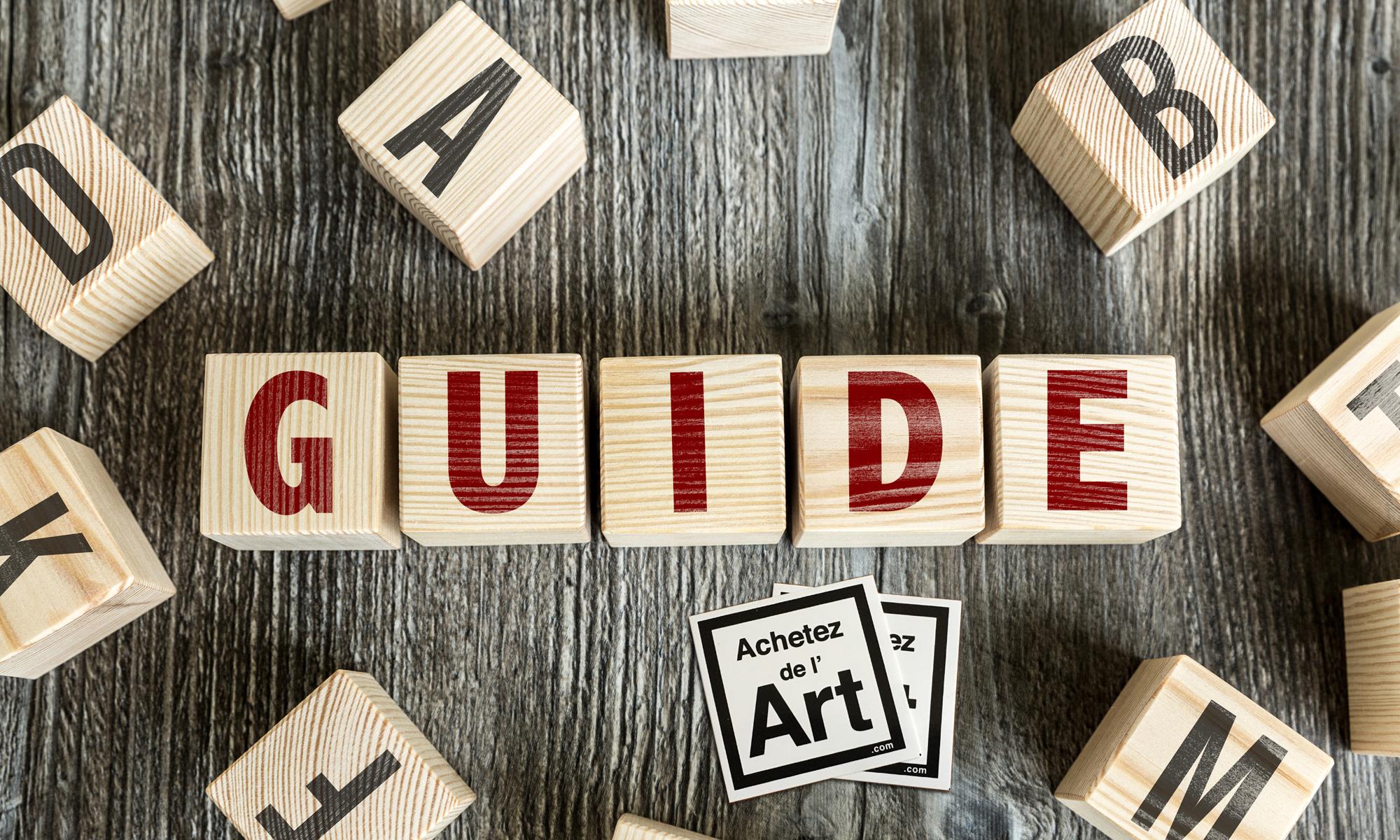 Guide Achetez de l'Art : conseils sur la fiscalité