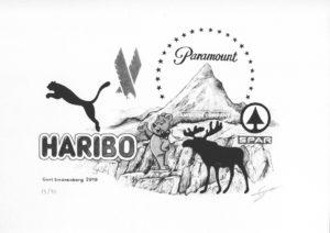 Habitat, print de Gurt Swanenberg