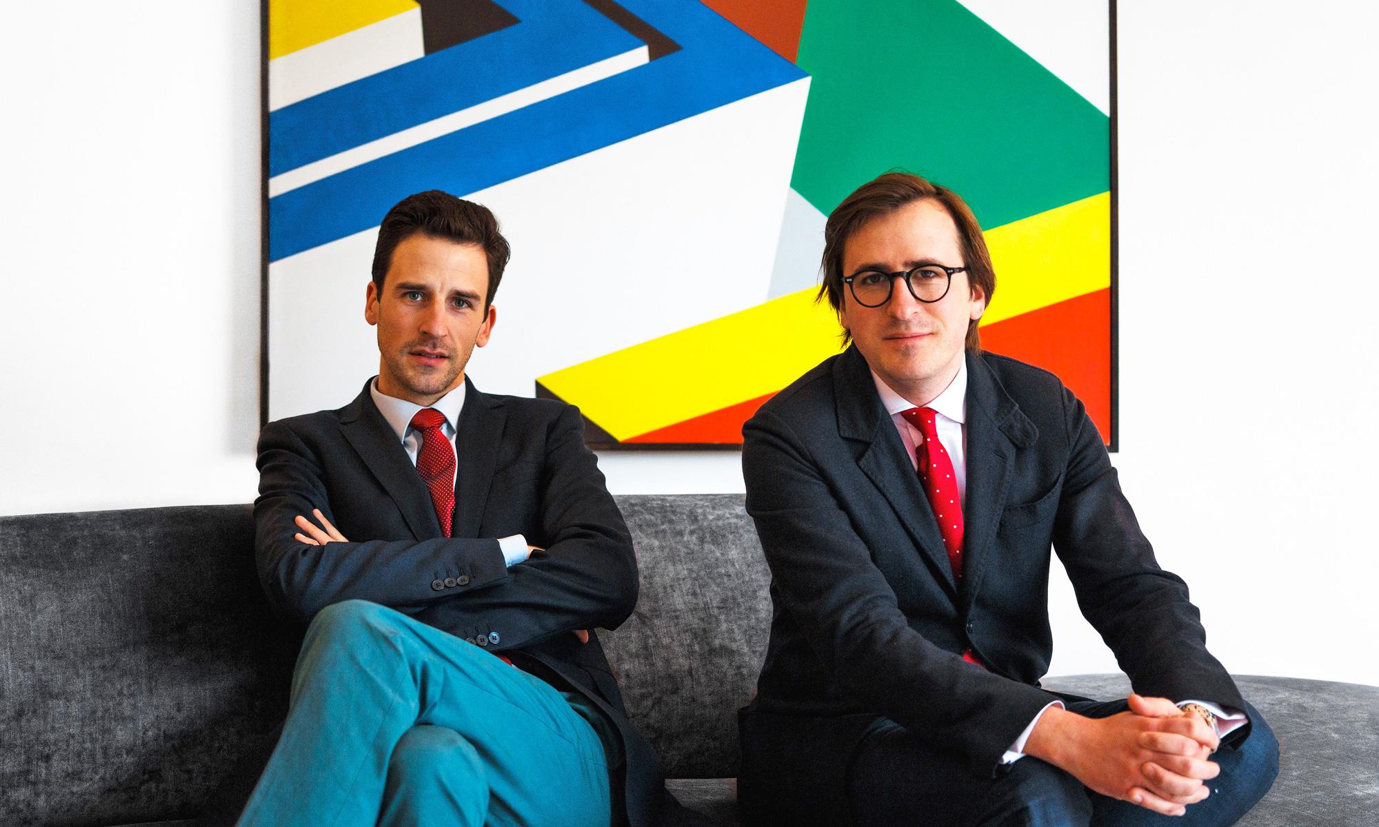 Hadrien Brissaud et Édouard Bernard - directeurs d'Appia Art
