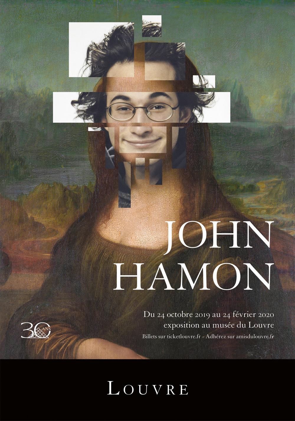 Affiche John Hamon - Hamonalisa