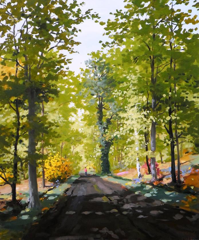 Une Allée de Forêt - Hervé Turpin 2012