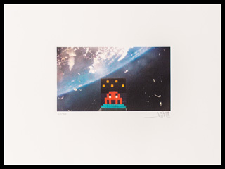 Space Invaders - Art4Space 2D