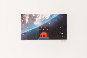 Invader - Art4Space 2D