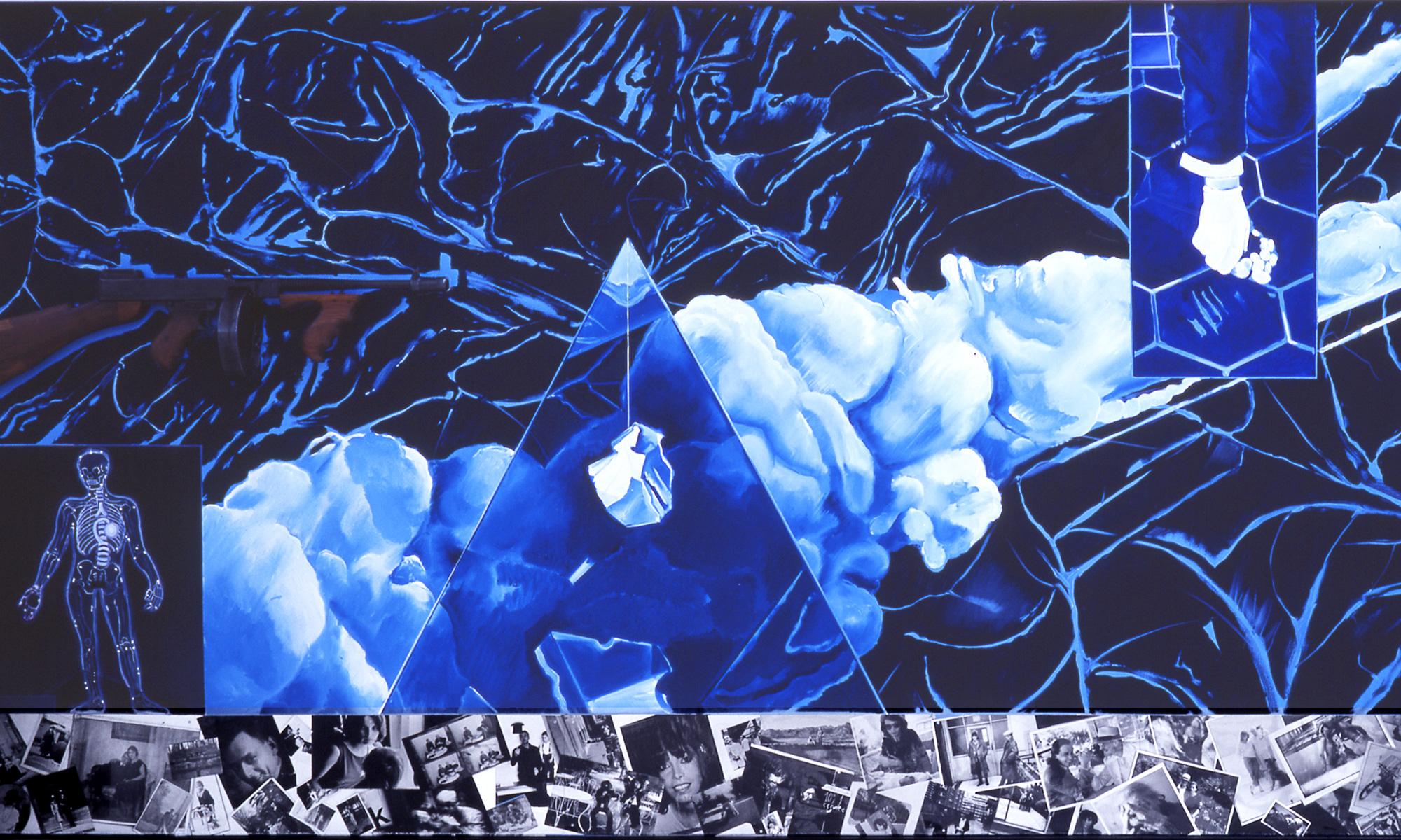 Jacques Monory - Le dernier tableau (1991)