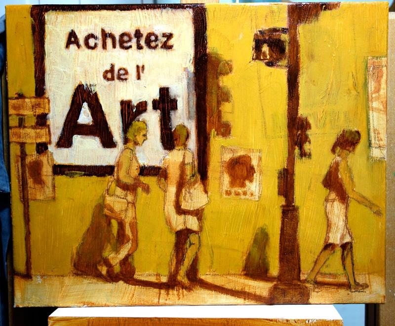 Achetez de l'Art par Jean-Marie Drouet, tableau en cours