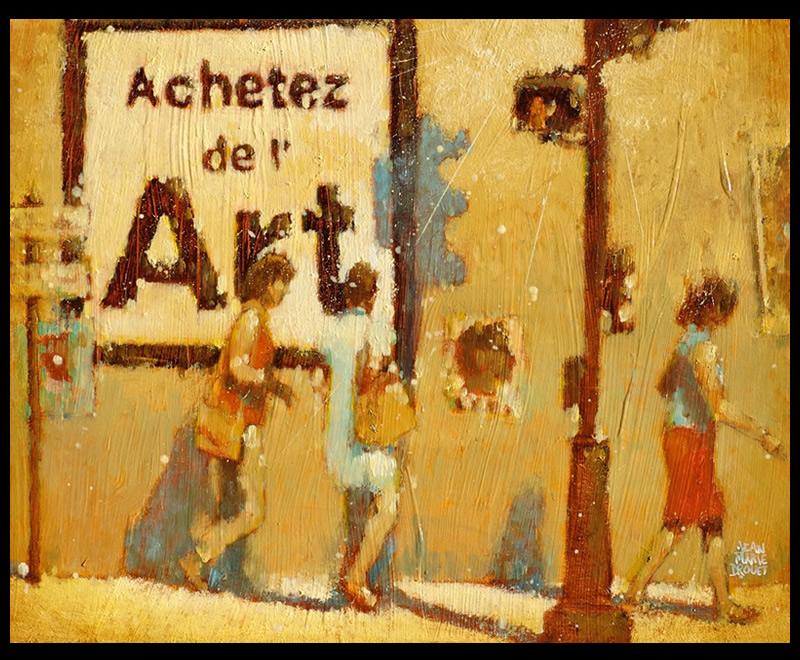 Achetez de l'Art par Jean Marie Drouet - toile terminée