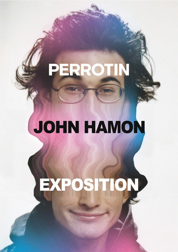 John Hamon - affiche de l'exposition promotionnelle