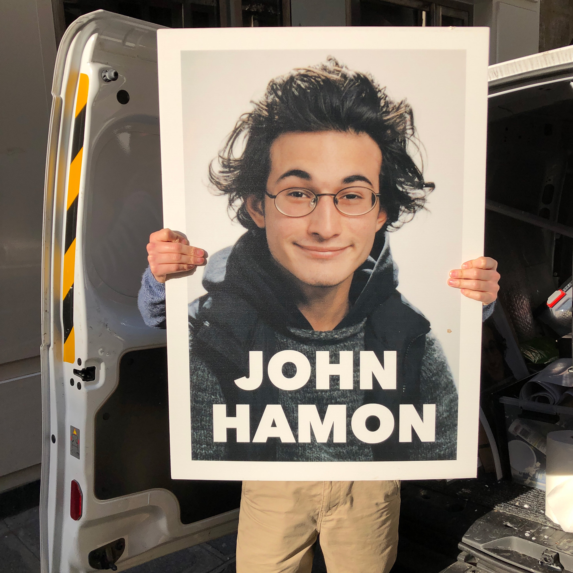 John Hamon, l'art promotionnel