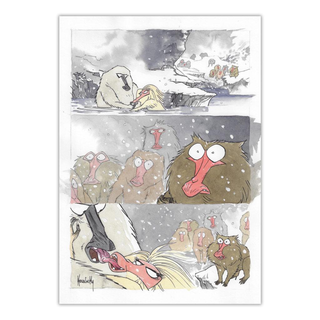 Krassinsky - Le Crépuscule des Idiots - Planche originale