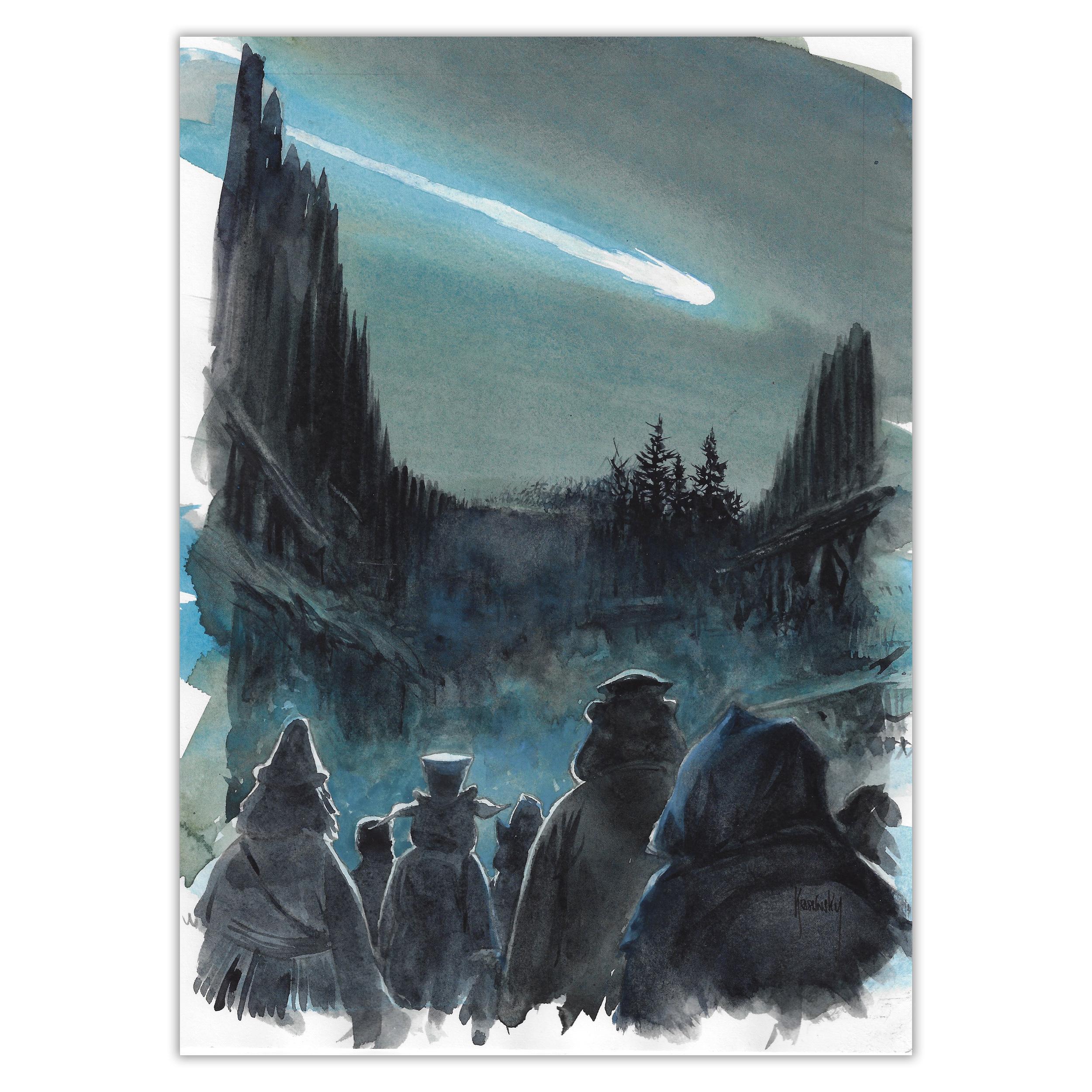 Krassinsky - La fin du monde en trinquant - Plan originale