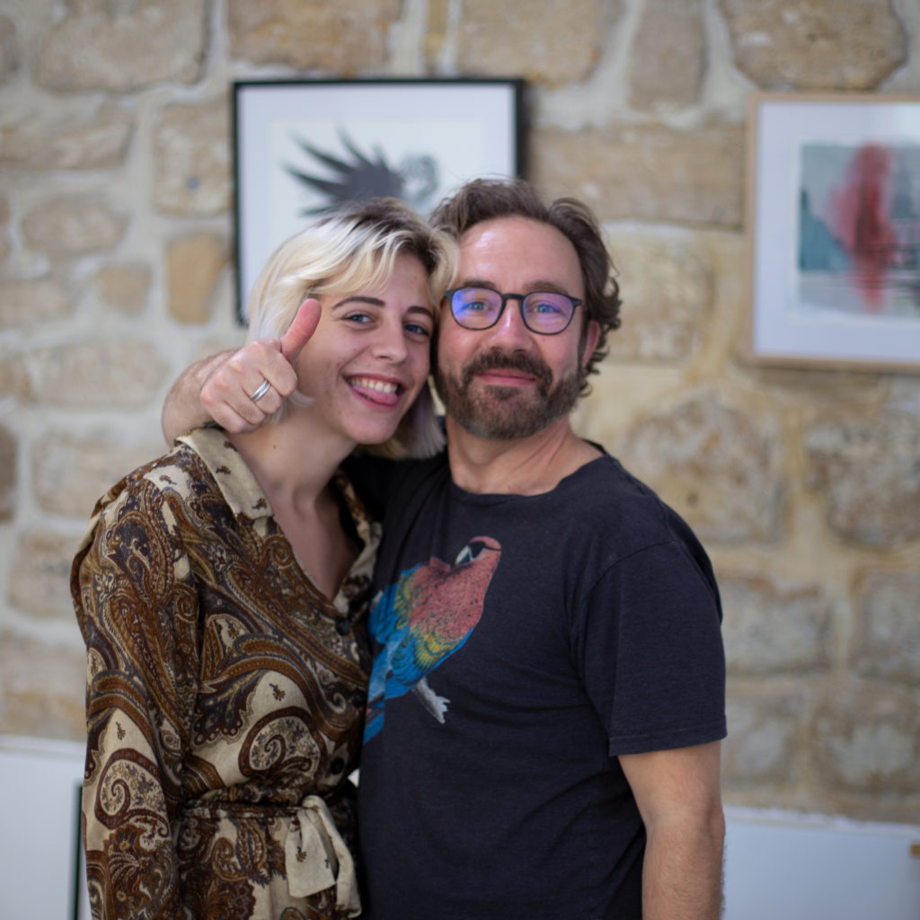Ludovic Monnier et Margaux Lacombled