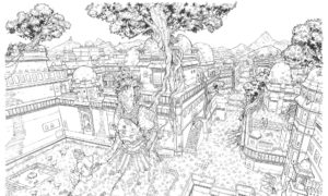 Mathieu Bablet - Adrastée - Illustration