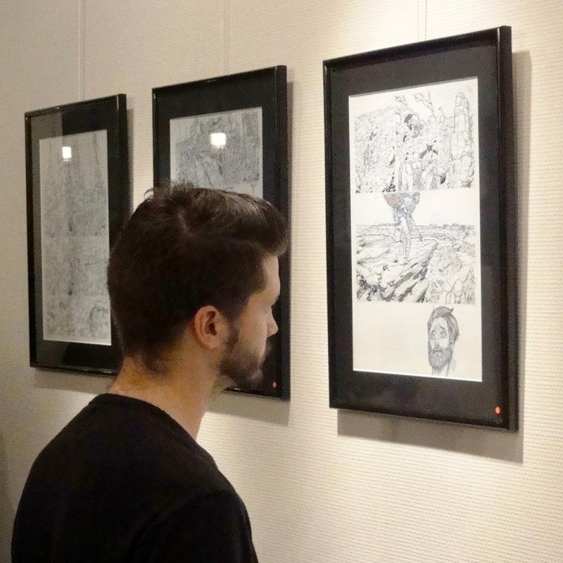 Mathieu Bablet - Exposition Shangri La