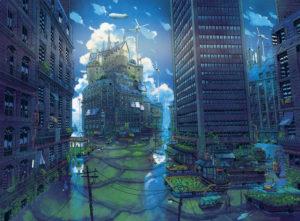 Mathieu Bablet - Illustration pour l'affiche des Utopiales 2019