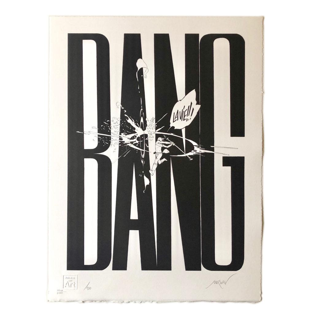Merwan Chabane - BANG - Print