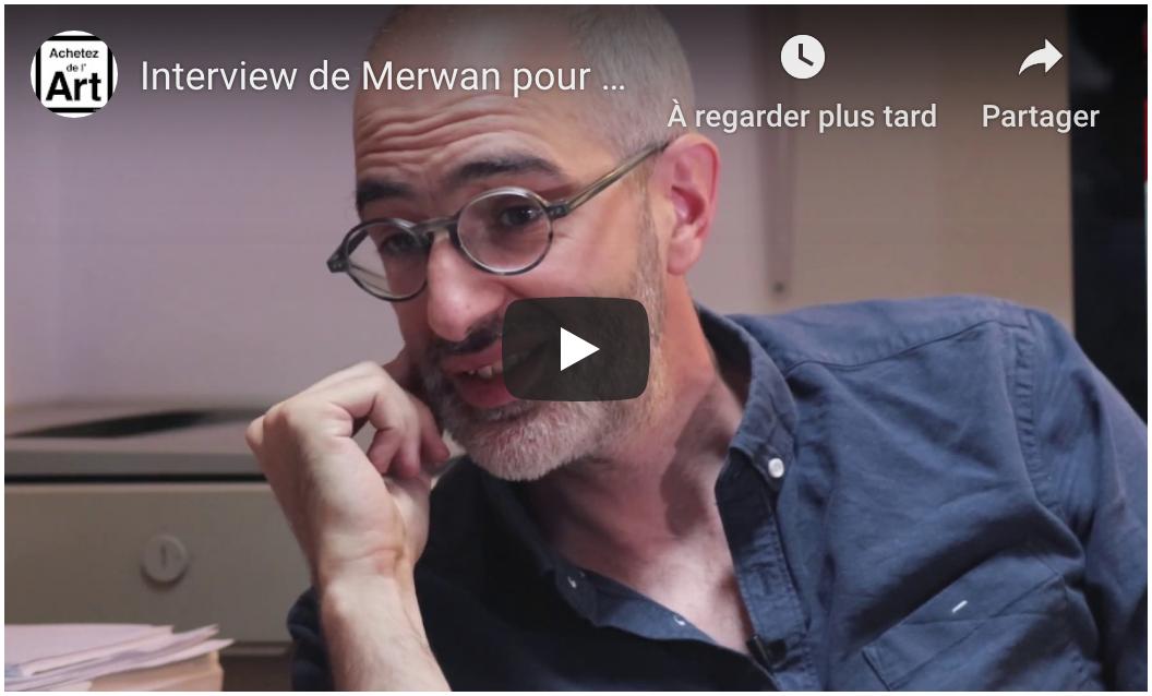 Merwan Chabane - Interview Achetez de l'Art
