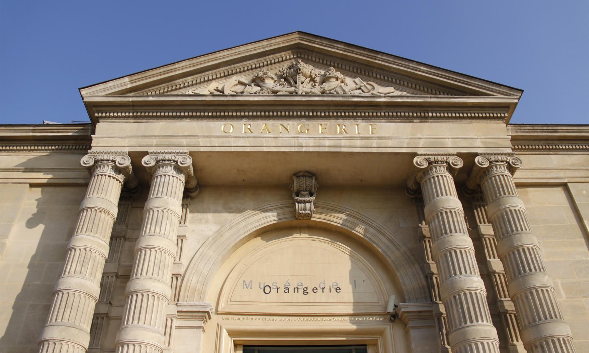 Le musée de l'Orangerie à Paris