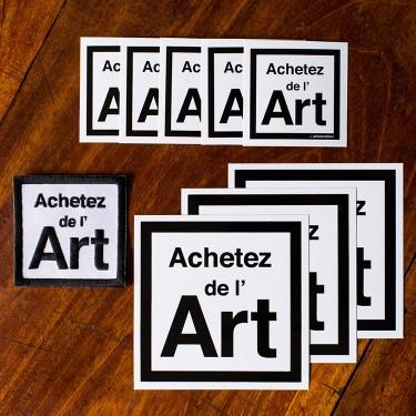 Pack de soutien Achetez de l'art
