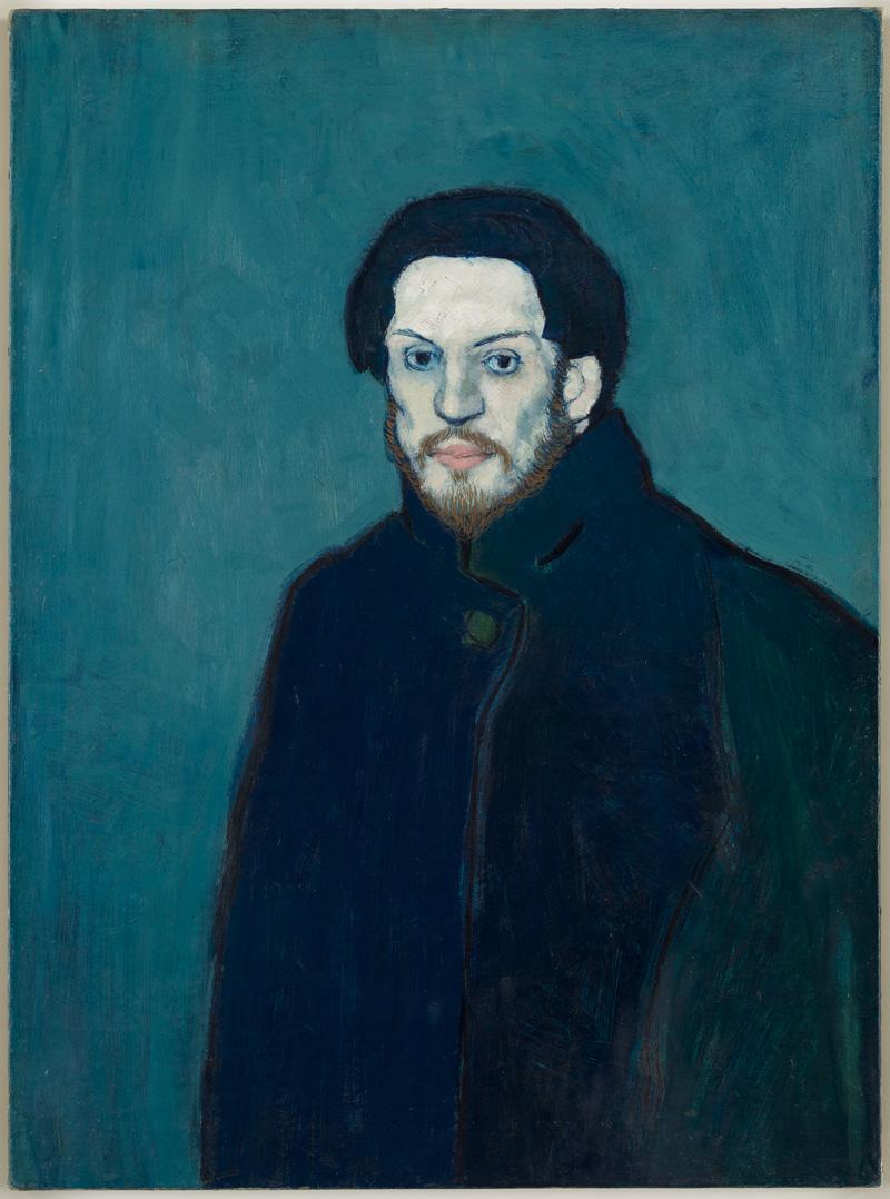 Picasso - Autoportrait (1901)
