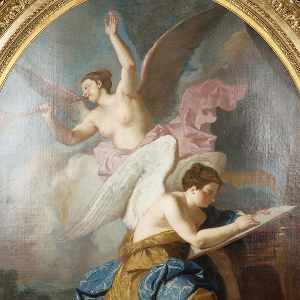 Détail de l'oeuvre : La Renommée et l'Inspiration