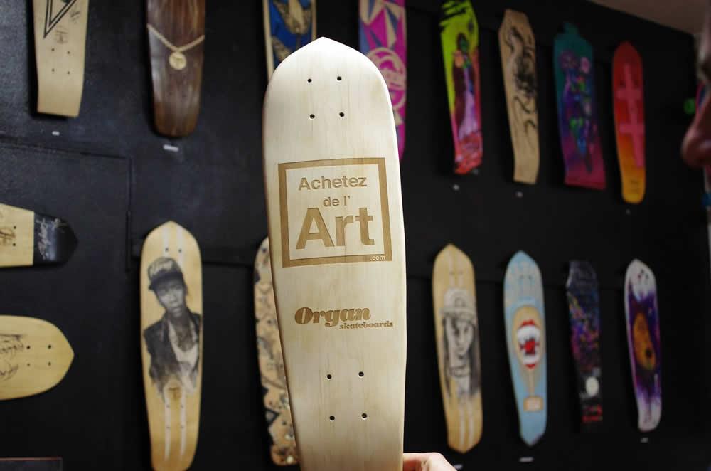 Achetez de l'Art et Organ Skateboards : SKATE ART