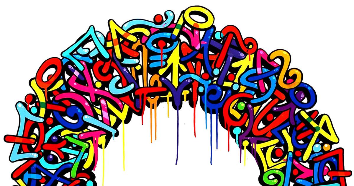 acheter du street art un graff de soklak elgato aux ench res. Black Bedroom Furniture Sets. Home Design Ideas
